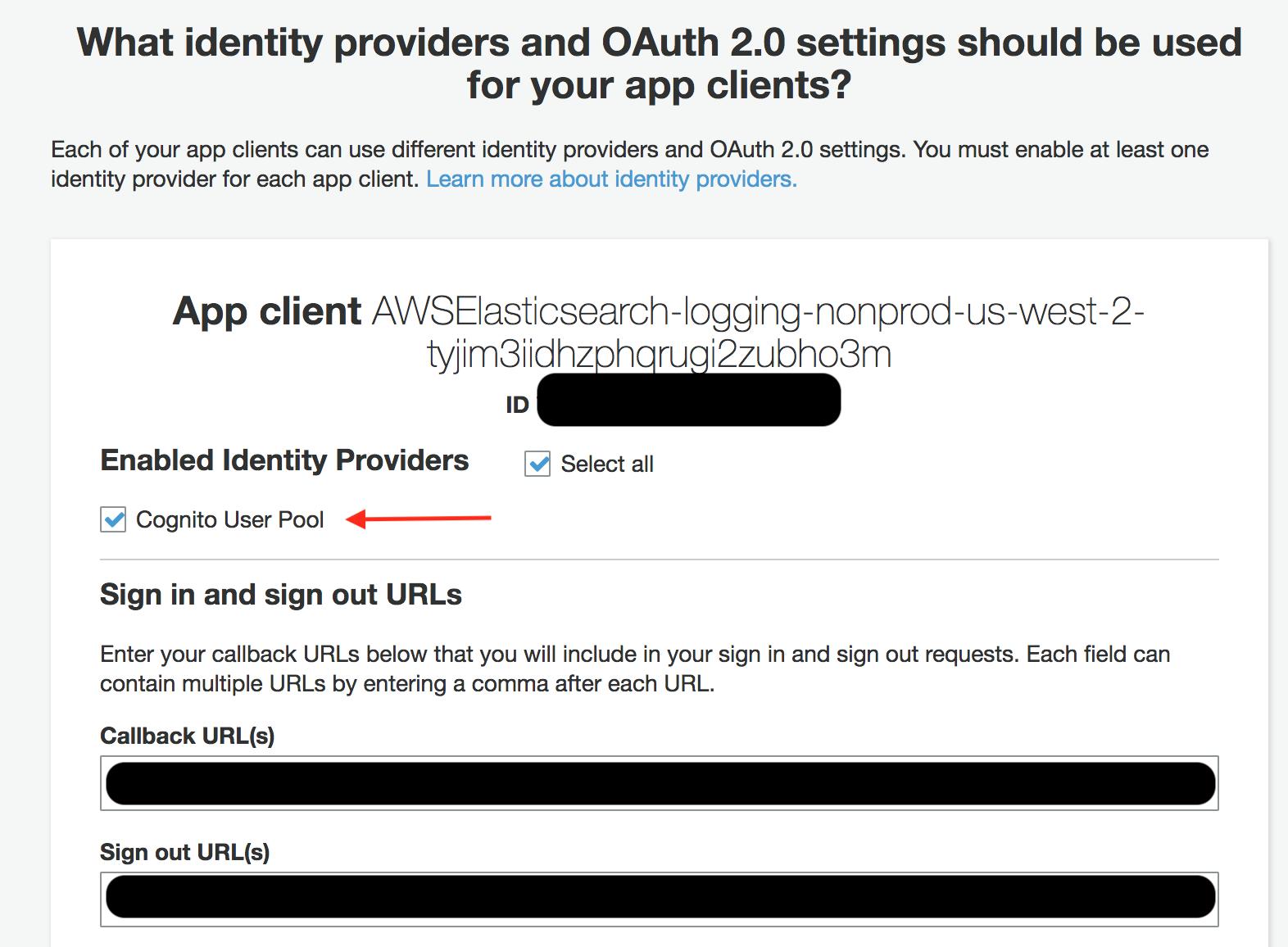 Auto generated app client