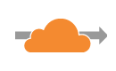 CloudFlare orange cloud