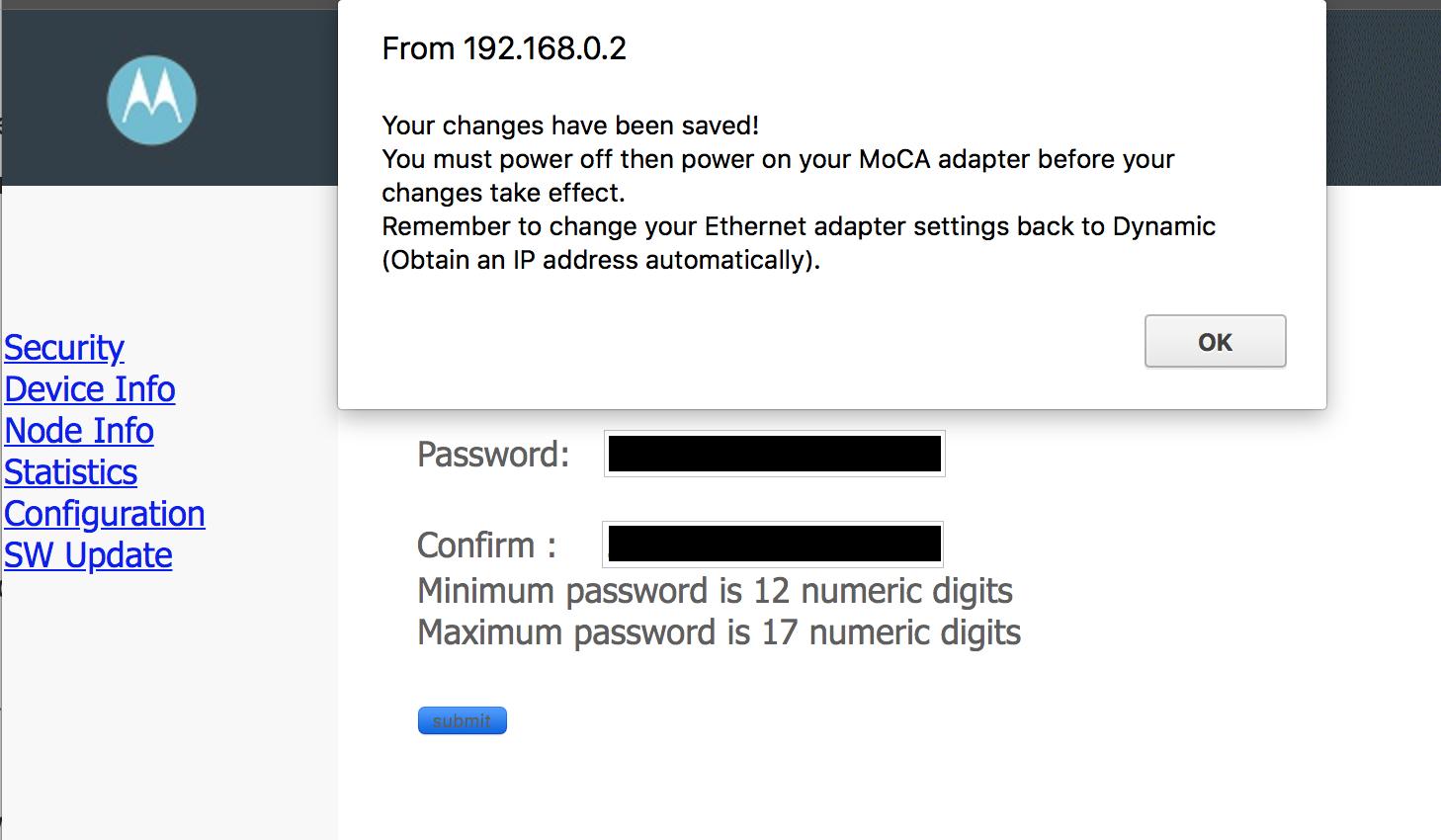 setting the encryption key