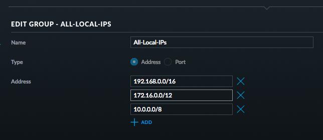 Local IPs
